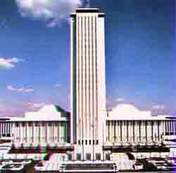Floridas capital building in tallahassee